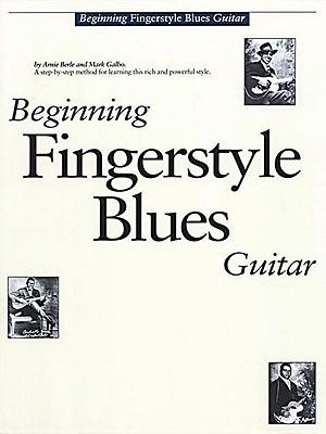 Beginning Fingerstyle Blues Guitar By Berle, Arnie