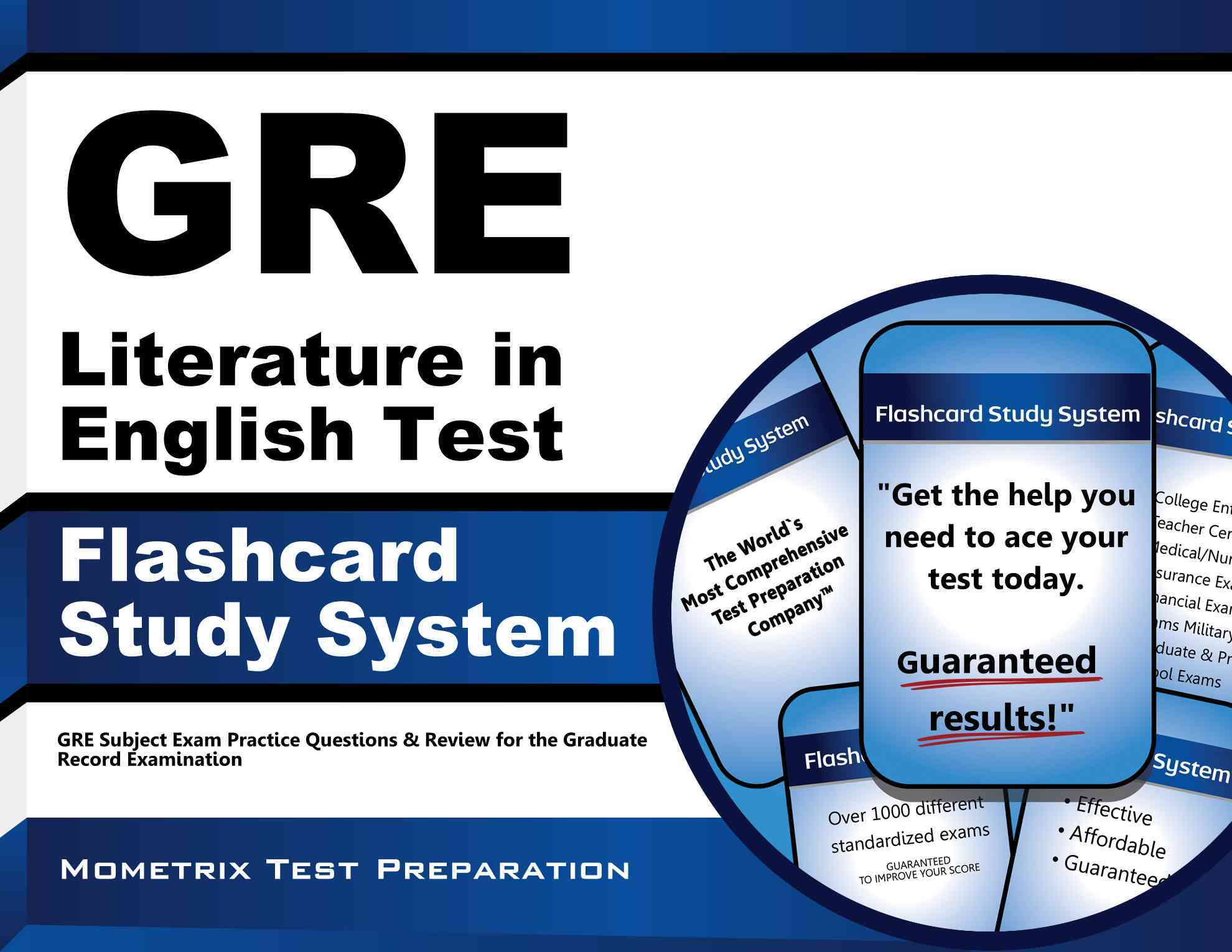 Gre Literature in English Test Flashcard Study System By Gre Subject Exam Secrets Team (EDT)